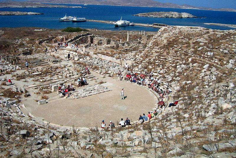 delos greece ekskurzii 1