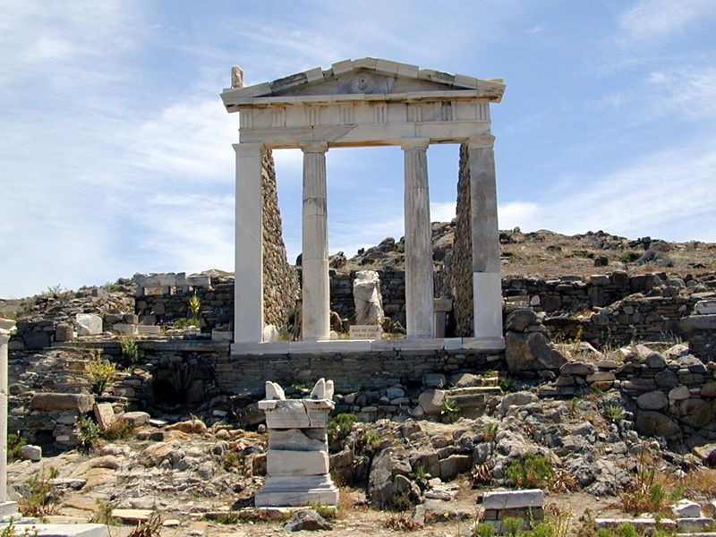 delos greece ekskurzii 3